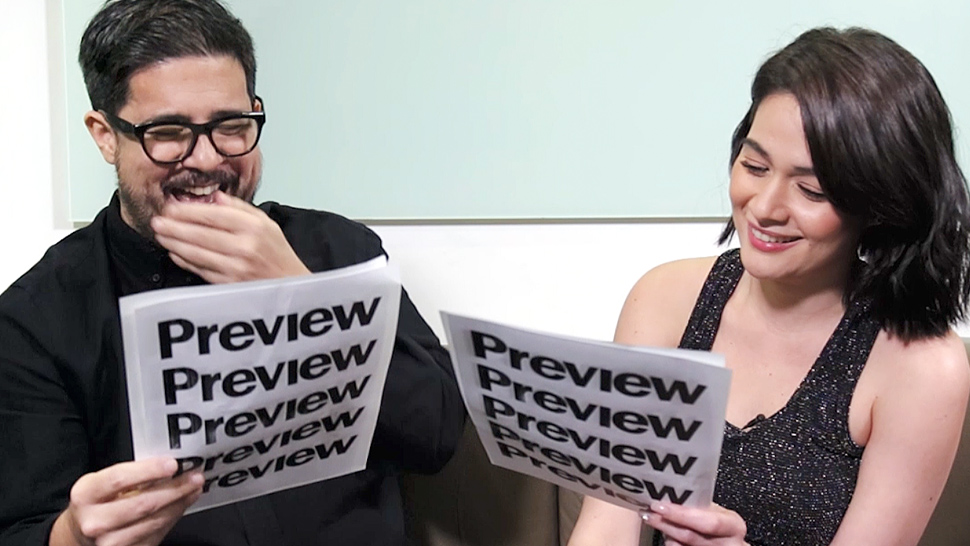 Bea Alonzo and Aga Muhlach Recreate