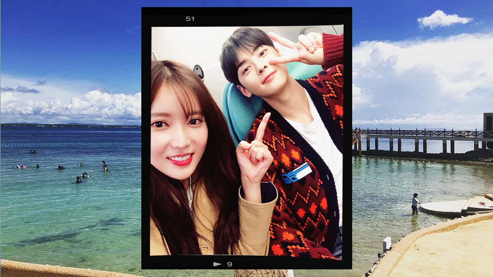 "We Spotted the Cast of ""My ID Is Gangnam Beauty"" Vacationing in Cebu"