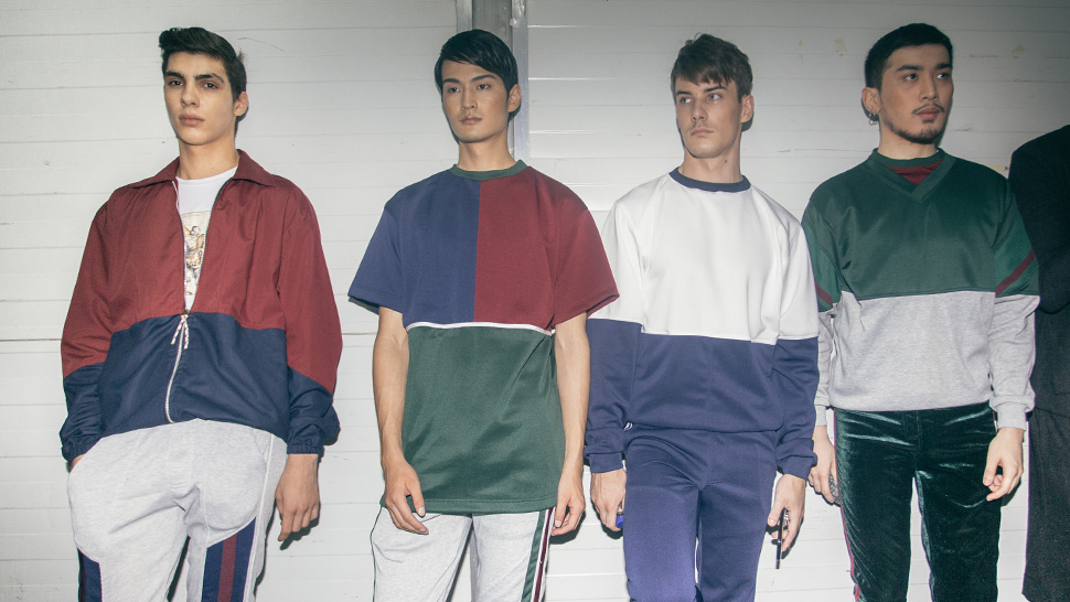This Sporty Menswear Collection Is Inspired By Mathematics