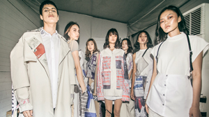 Miyama Uno's Latest Collection Uses The Coolest Vintage Magazine Prints