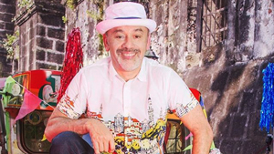 We Spotted Christian Louboutin Wearing A Barong Tagalog