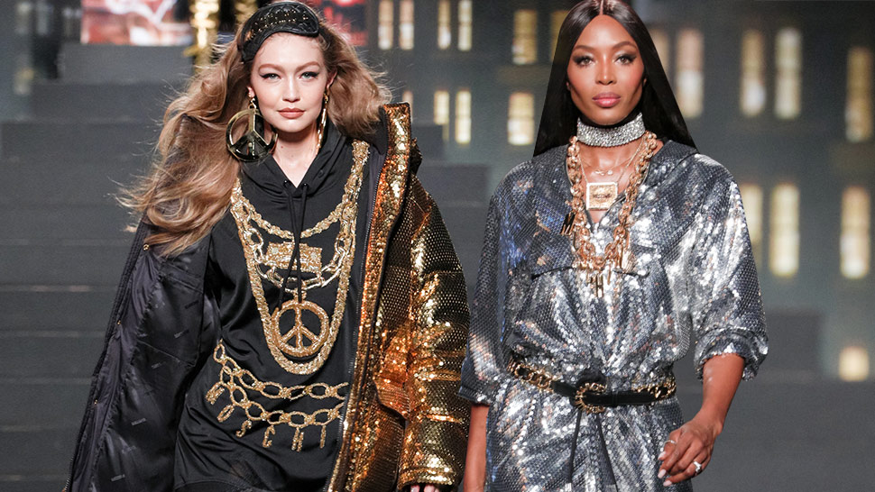 All the Celebrity Models Who Walked Down the H&M x Moschino Runway