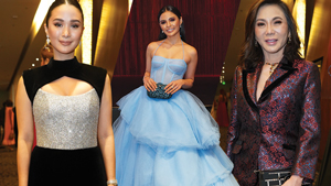 We Saw Heart Evangelista, Lovi Poe, And More At The Red Charity Ball 2018