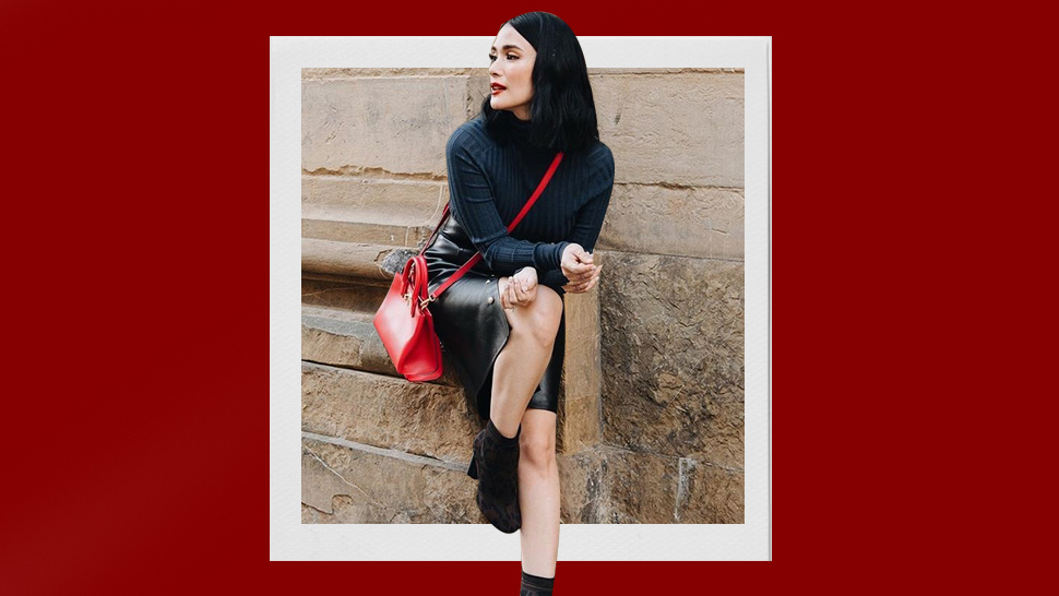 How To Show Off Your Bag In An Ootd Pic, According To Heart Evangelista