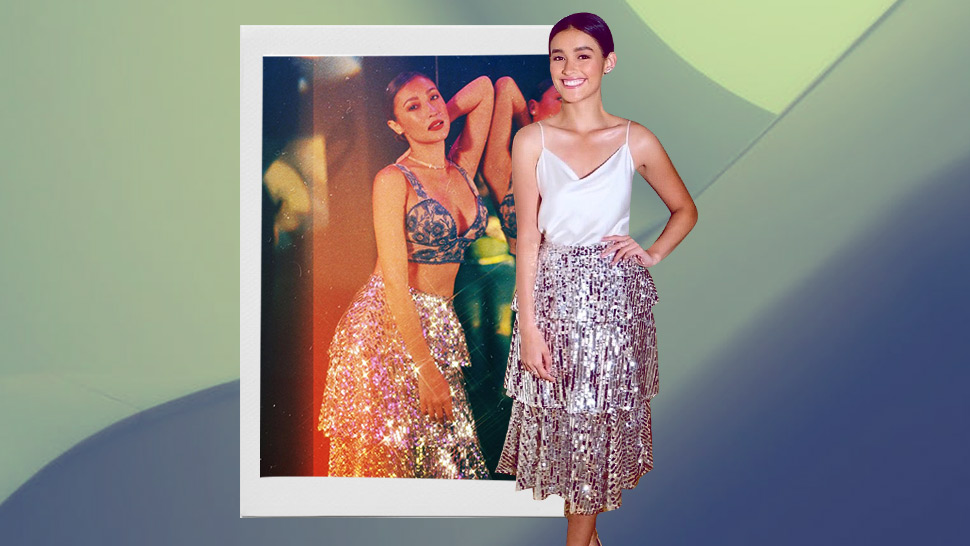 We Spotted Liza Soberano And Solenn Heussaff Twinning In A Sparkly Skirt