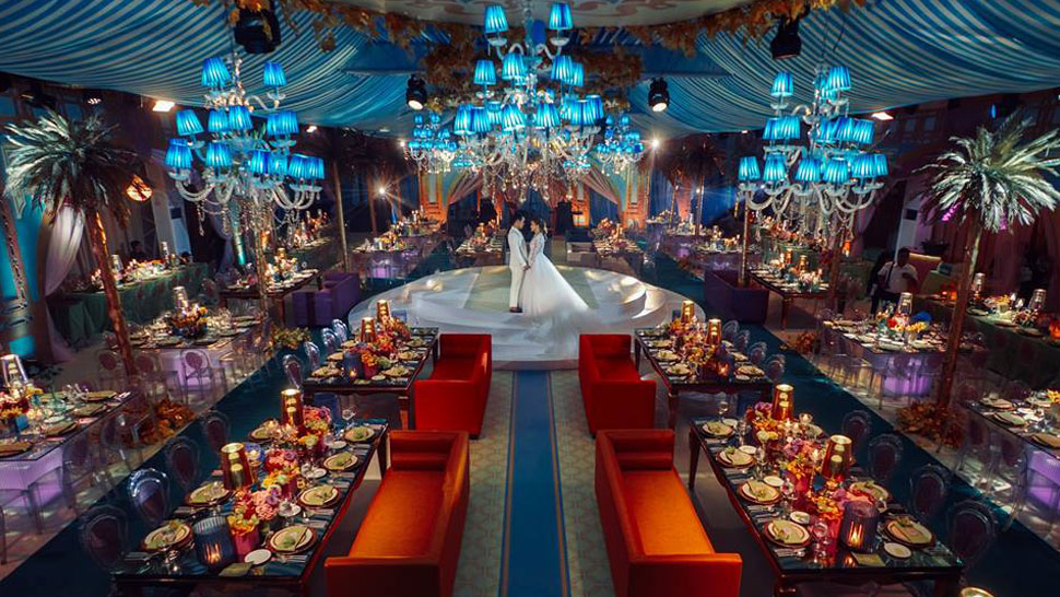 You Have to See This Majestic Wedding Inspired by Wes Anderson
