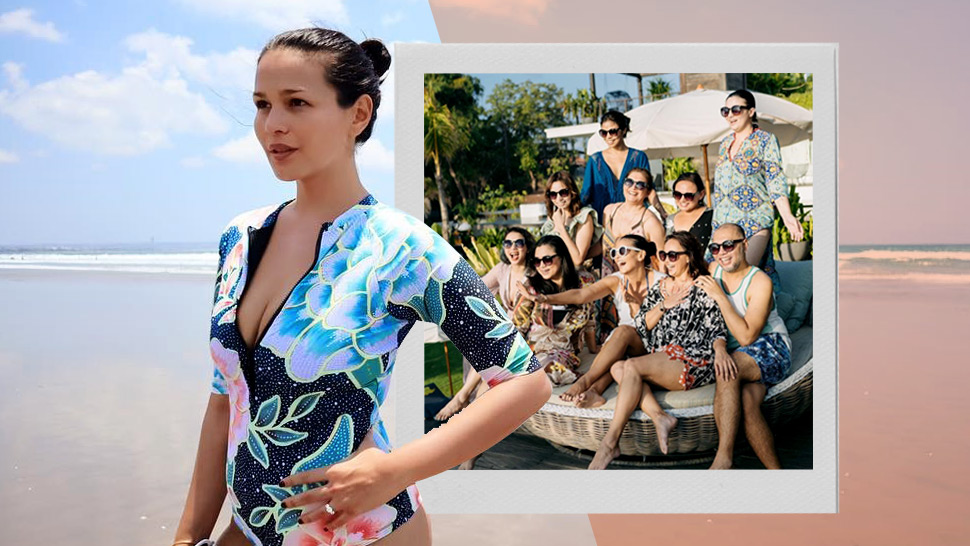 You Have to See Iza Calzado's Tropical Bridal Shower in Bali