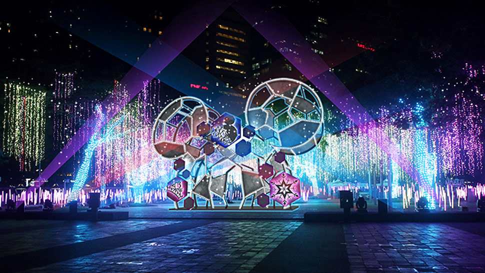 You Have to See This Disney-Themed Festival of Lights in Makati