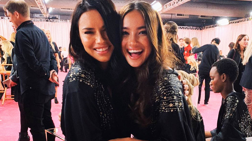 All The Best Backstage Snaps From The Victoria's Secret Fashion Show