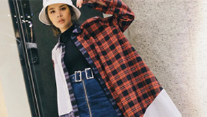 Lotd: Bea Marin Has A Cool Way To Style Your Old Fave Plaid Shirt