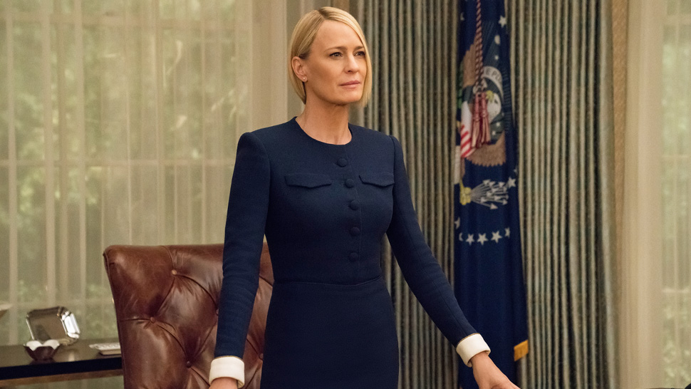 House of Card's Claire Underwood Should Be Your Workwear Style Peg