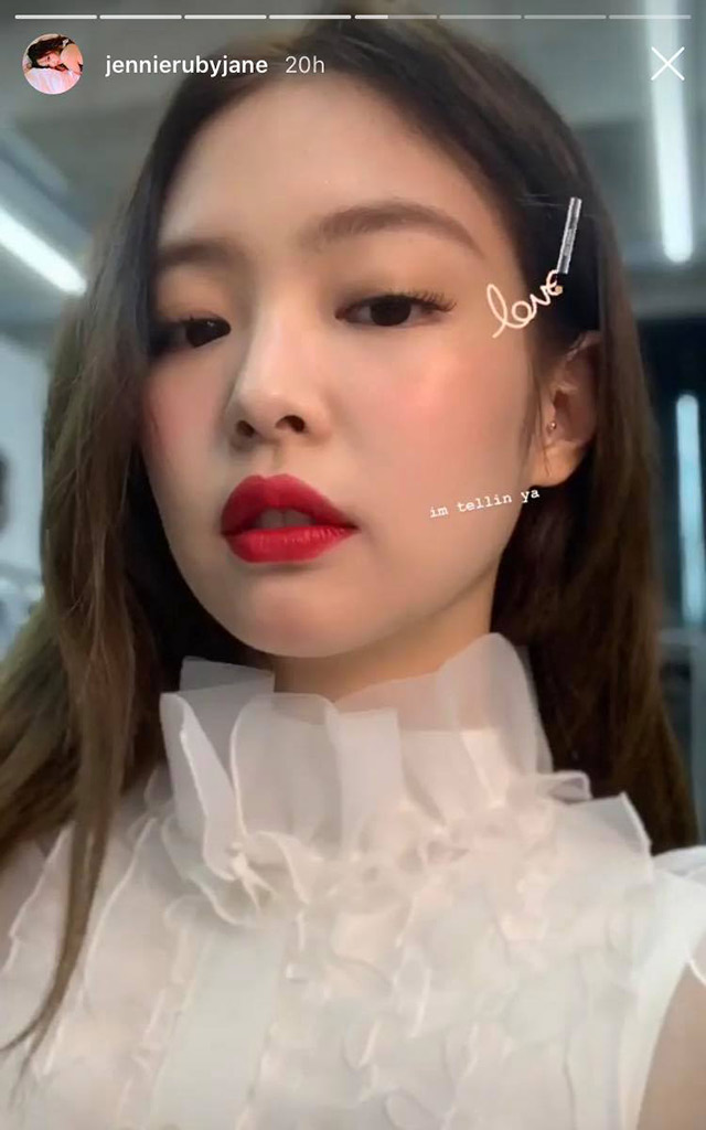 Jennie Kim Of Blackpink's Highlighter
