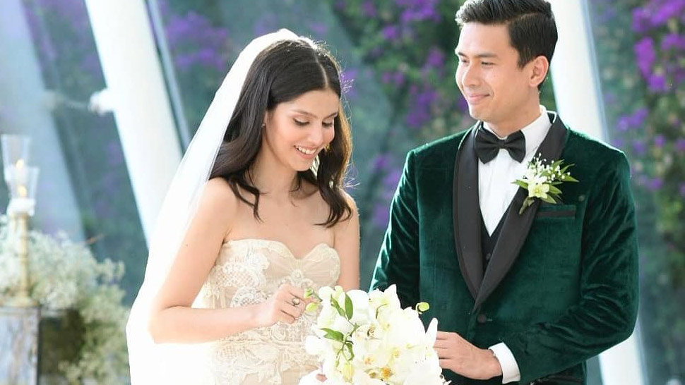 All the Gorgeous Details from Christian Bautista and Kat Ramnani's Wedding