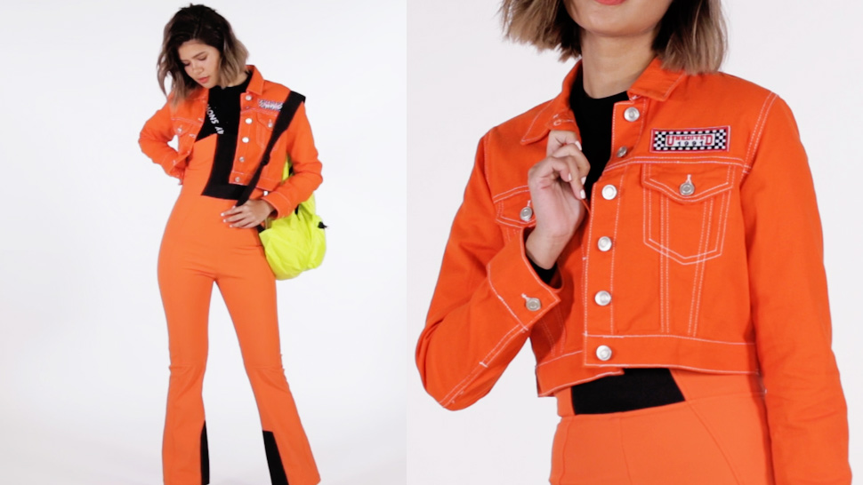 How To Pull Off A Neon Orange Outfit Without Looking Like A Traffic Cone
