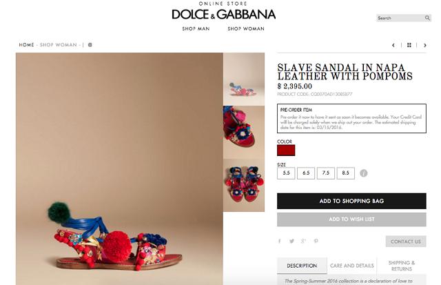 abfc9df34 Dolce   Gabbana Controversies