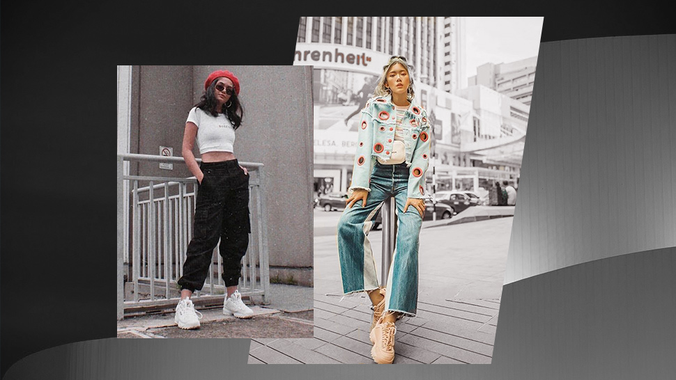 Here's How The Celebrities Are Wearing Their Fila Disruptor 2 Sneakers