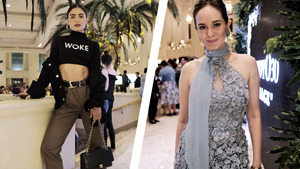 All The Stylish Guests At Randy Ortiz's 30th Anniversary Runway Show