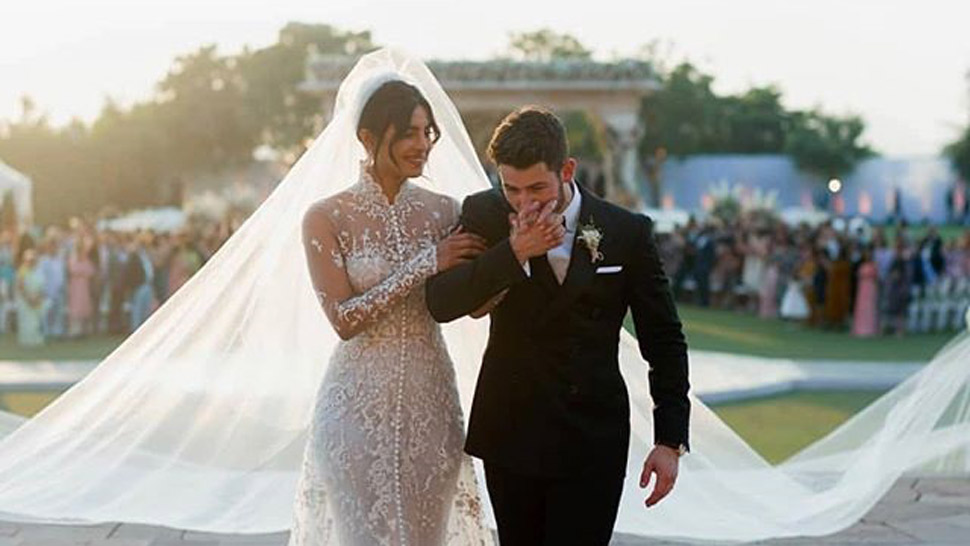 Priyanka Chopra's Custom Ralph Lauren Wedding Gown Will Make Your Jaw Drop