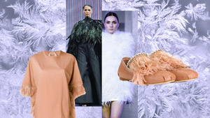 12 Ways To Wear Feathers During The Holiday Season