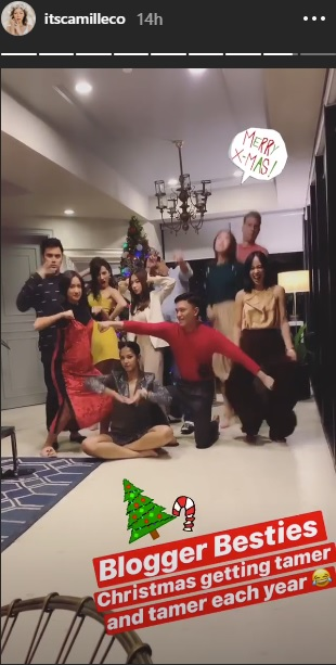 Here's How the Blogger Besties Celebrated Their Annual Christmas Party