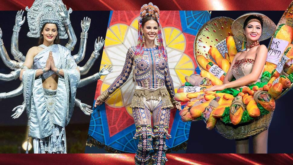 All the Jaw-Dropping National Costumes From Miss Universe 2018