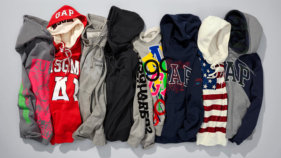 You'll Want to Shop All the Logo Hoodies From the Gap x GQ Collab