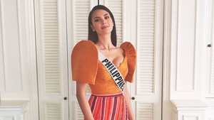 You Have To See Catriona Gray's Preliminary Interview Outfit