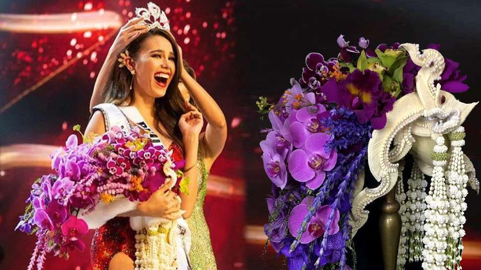 The Meaning Behind Catriona Gray's Miss Universe 2018 Bouquet