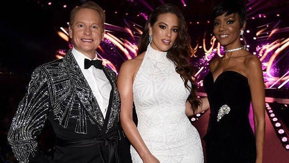 Carson Kressley Wore Custom Francis Libiran To Miss Universe