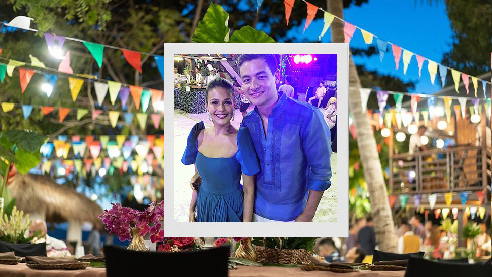 Here's What Happened at Iza Calzado's Pre-Wedding Party