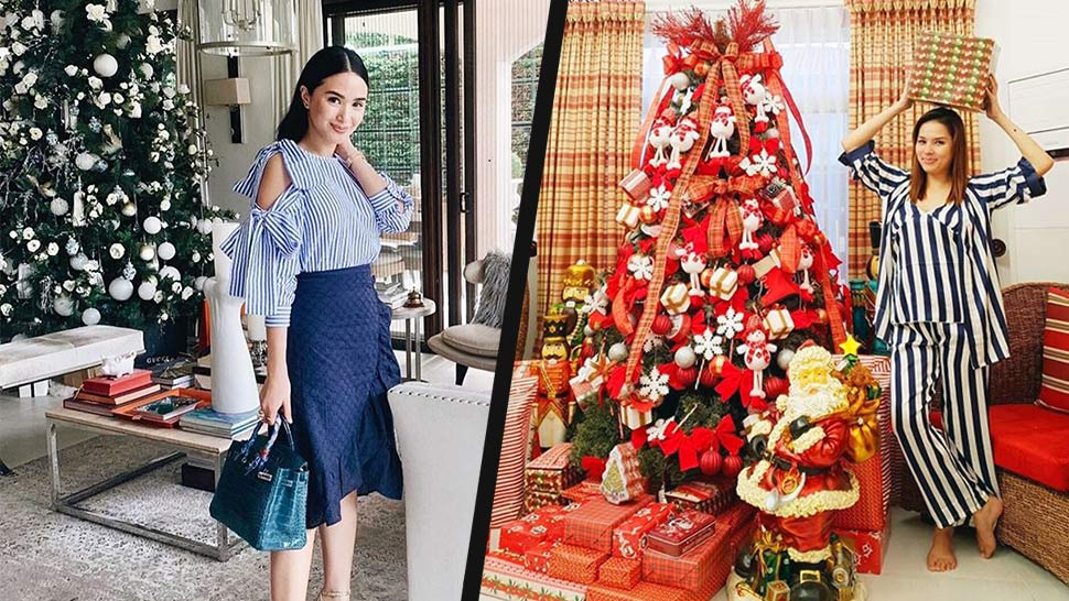 Here's How Celebs Decorated Their Christmas Trees This Year