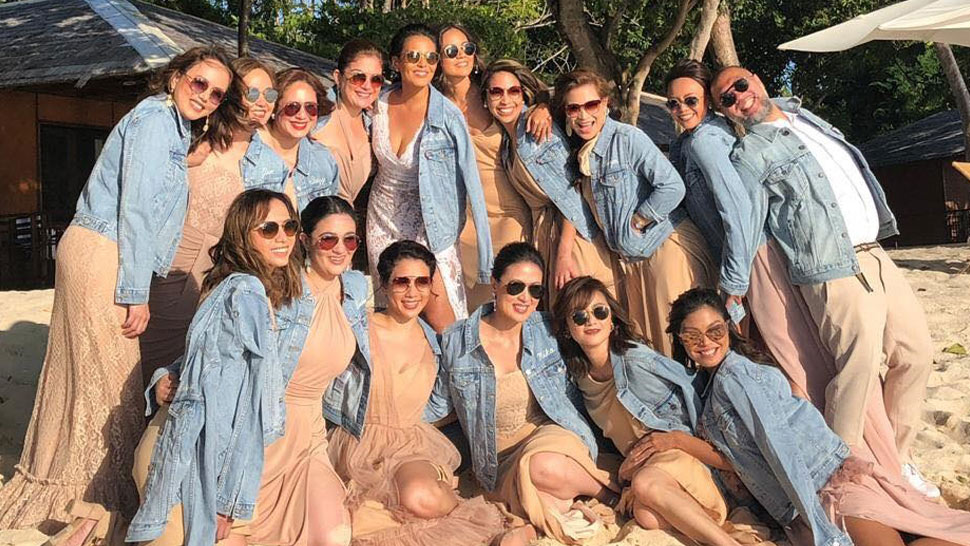 This Might Be the Reason Why Iza Calzado's Bridal Entourage Wore Denim Jackets