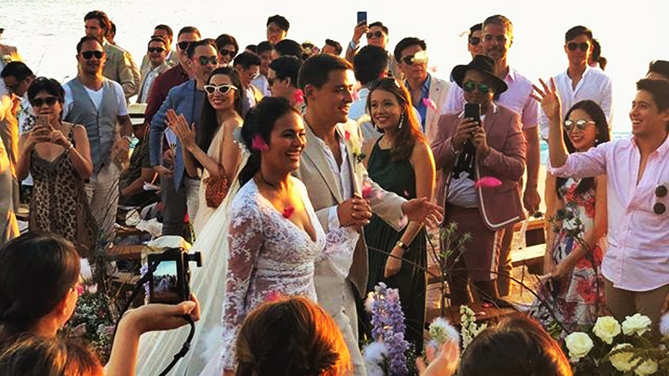 What the Guests Wore to Iza Calzado and Ben Wintle's Wedding