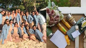 What Iza Calzado Gave Her Bridesmaids On Her Wedding Day