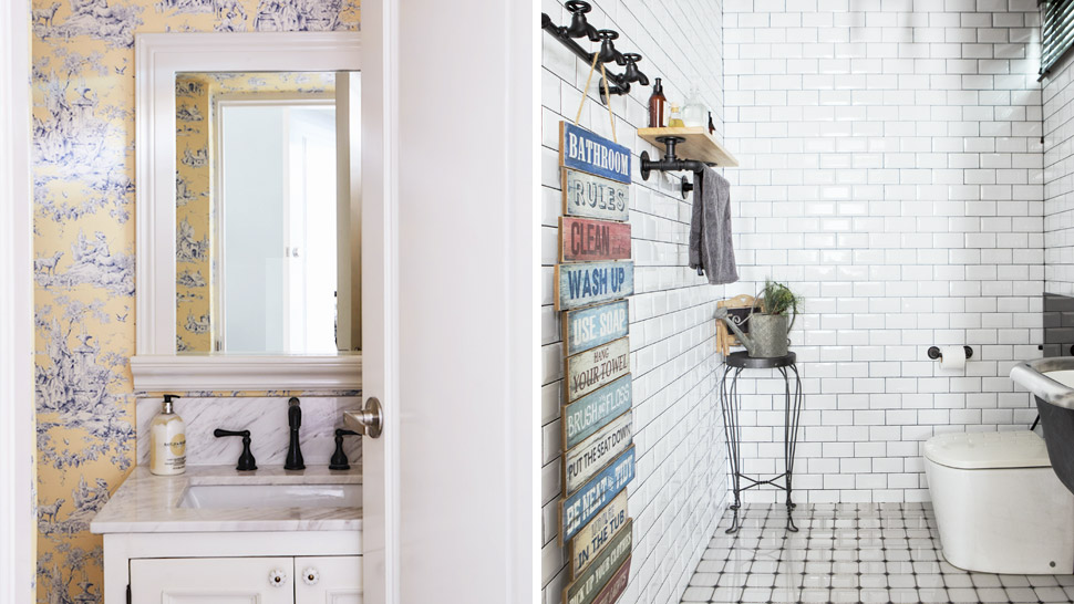 8 Ways to Achieve a Hotel-Like Powder Room