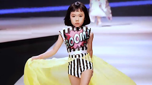 You Have To See This Sassy Little Vietnamese Girl Work The Runway