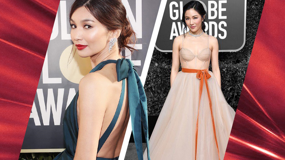 Here's What The Cast Of Crazy Rich Asians Wore To The Golden Globes 2019