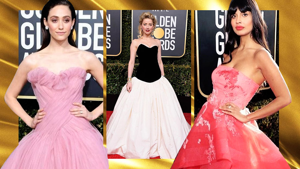 These Stars Wore Filipino Designer Monique Lhuillier To The Golden Globes 2019