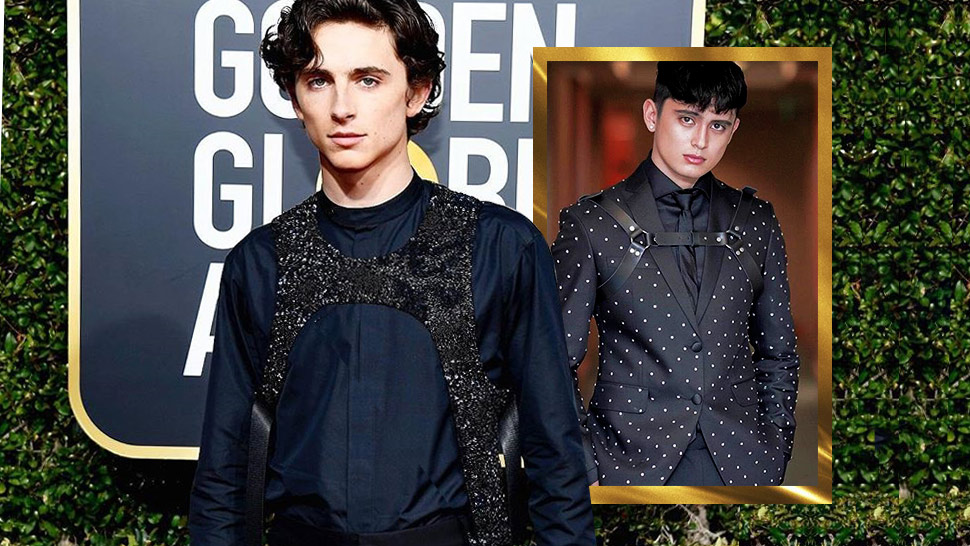 James Reid And Timothée Chalamet Make A Case For Harness Accessories