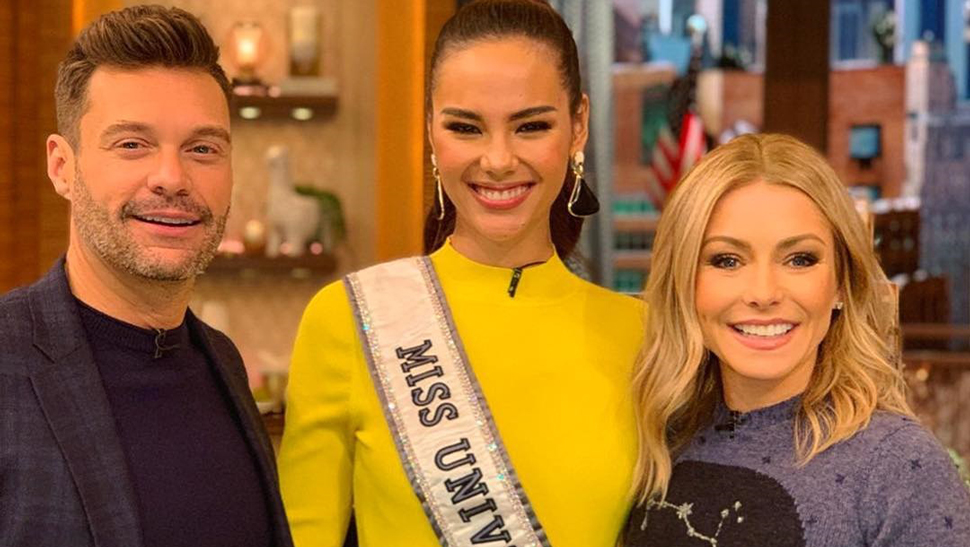 The Exact Yellow Dress Catriona Gray Wore to Her US Media Tour