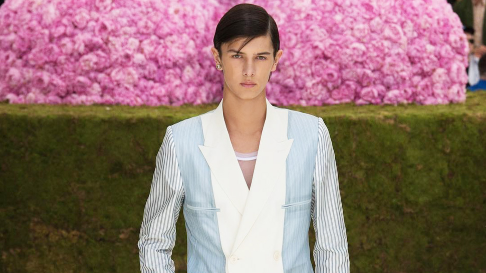 We Spotted A Prince Walk Down The Dior Runway