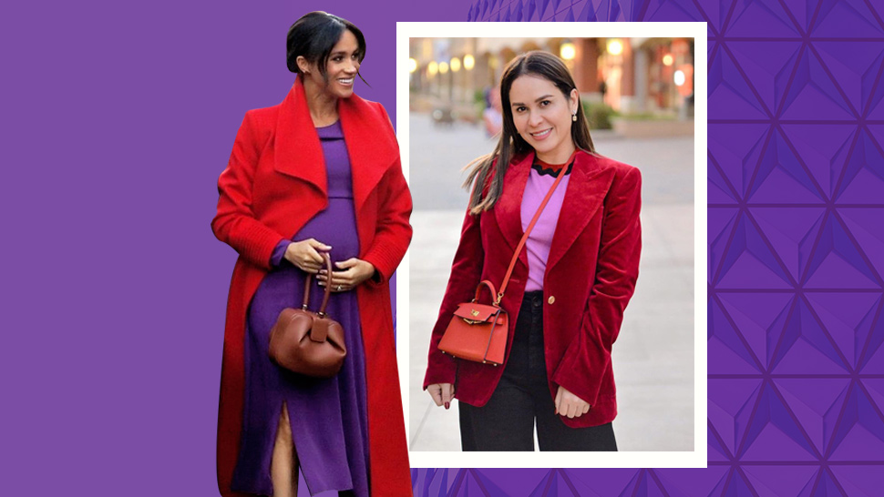 Jinkee Pacquiao and Meghan Markle Both Love This Bold Color Combo