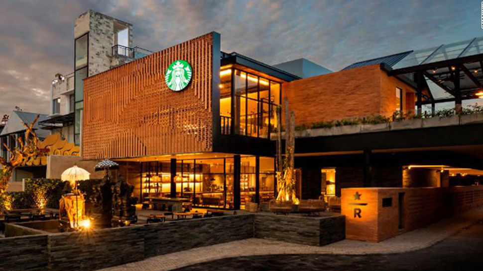 The Largest Starbucks in Southeast Asia Has Its Own Coffee Farm Inside