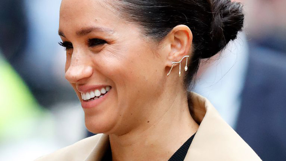 Here's Where You Can Shop Crawler Earrings Like Meghan Markle's