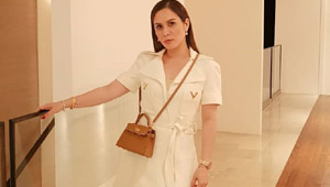 Here's What Jinkee Pacquiao Wore To Manny's Fight Against Adrien Broner