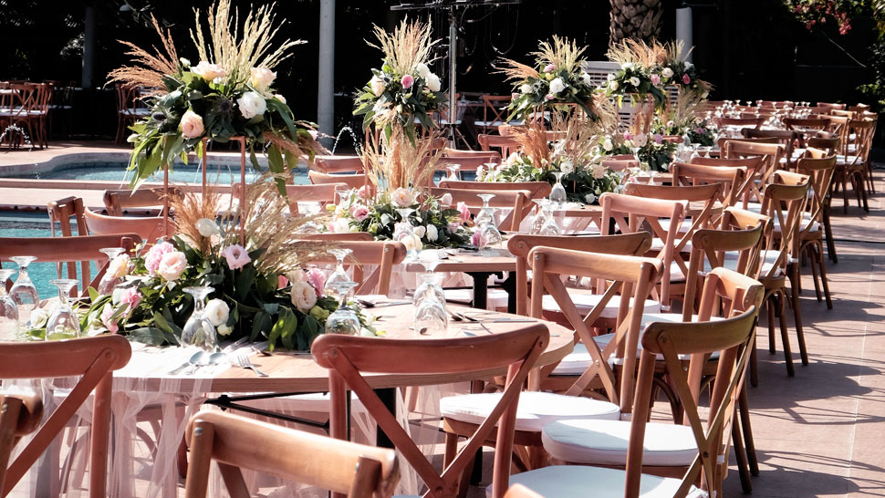 This Event Stylist Had A Pinterest-worthy Idea For A Garden Wedding