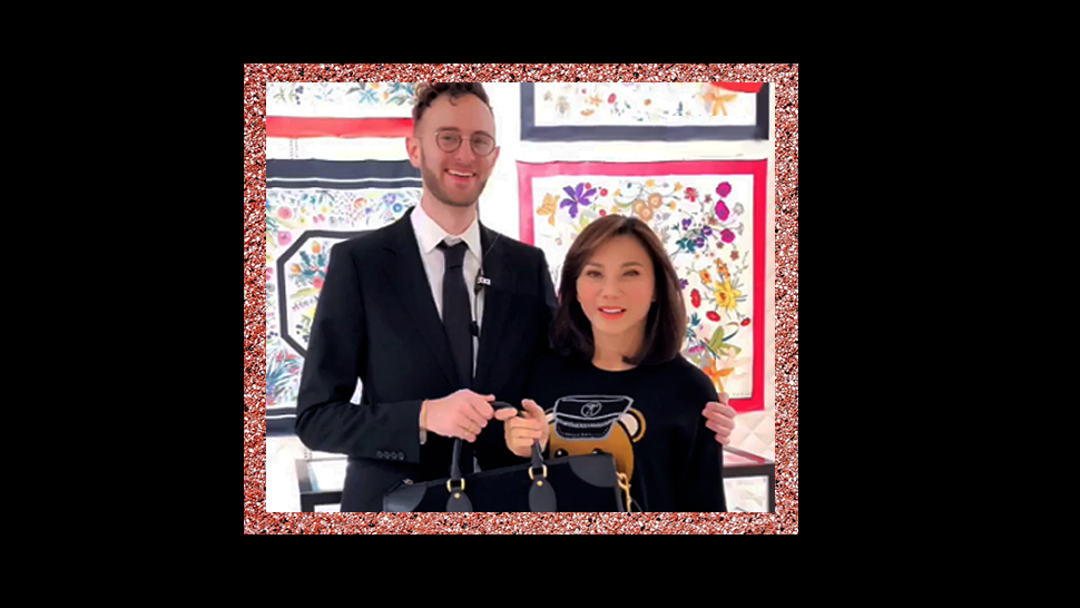 Dr. Vicki Belo Receives A Limited Edition Bag From Gucci