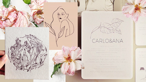 This Is The New Trend In Wedding Invitations We're Loving Right Now