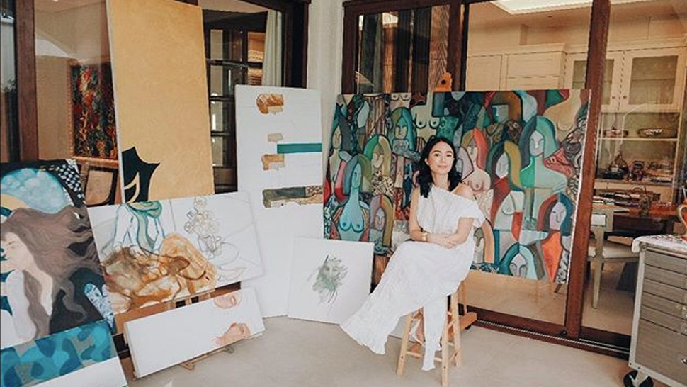 Heart Evangelista's Painting Gets Featured In Harper's Bazaar Us