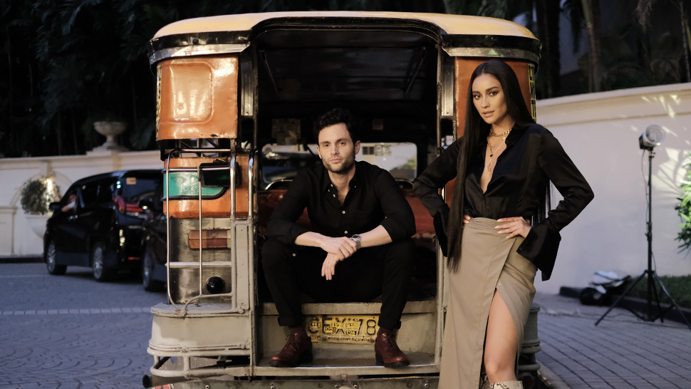 Watch Shay Mitchell Try To Prove That Penn Badgley Is Filipino